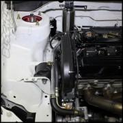 Buschur Racing Evo 8/9 Power Steering Reservoir Relocation Kit