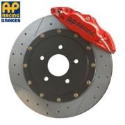 AP Racing 4-Piston Rear Drilled/Slotted Big Brake Kit
