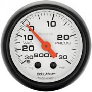 Autometer 30-0-30 Phantom Boost Gauge
