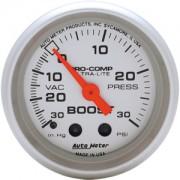 Autometer 30-0-30 Ultra-lite Boost Gauge