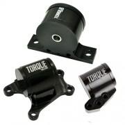 TS Aluminum 3 piece Engine Mount kit: Evo 7/8/9 (6-spd)