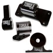 TS Billet Aluminum 4 Piece 5-spd Full Engine Mount Kit:Evo 7/8/9